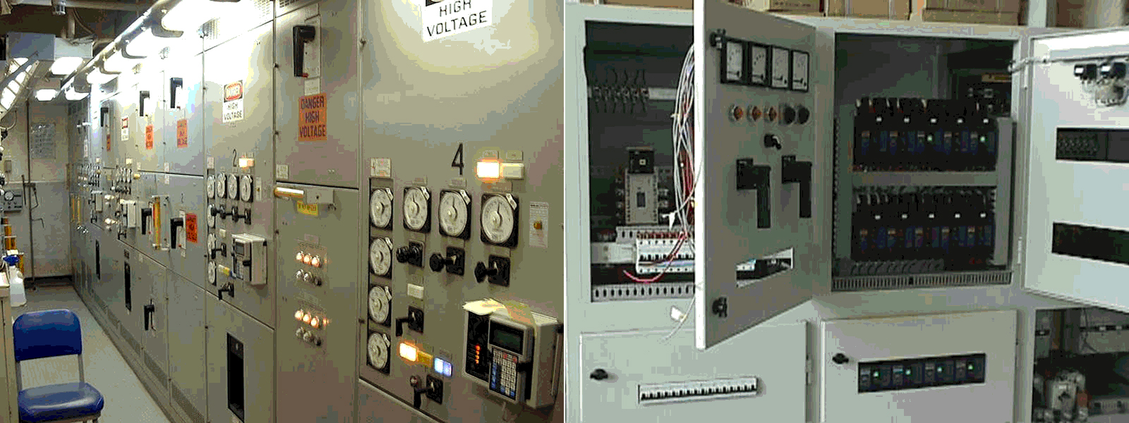 ELECTRICAL MARINE WORKS P.A. VALSAMAKIS provides services Main & Auxilliary Switch Boards